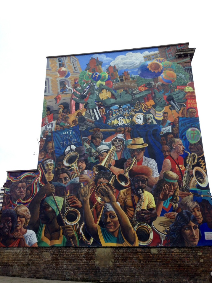 Hackney Peace Carnival Mural - Queens of Hackney